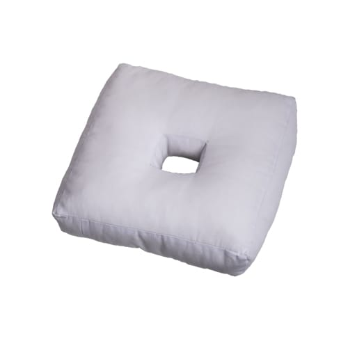 Travel pillow with a hole.
