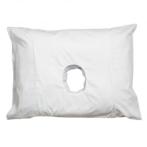 pillow with a hole