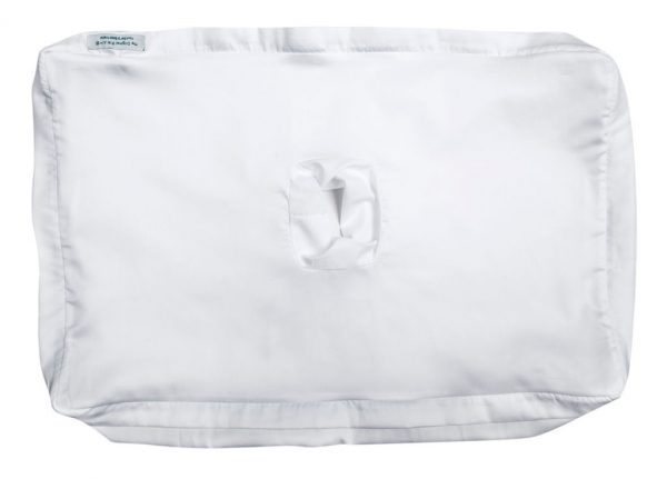 This pillowcase fits the Original pillow with a hole version 2